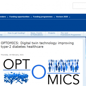 February 18th, 2021: OPTOMICS project featured on the EU Horizon 2020 website